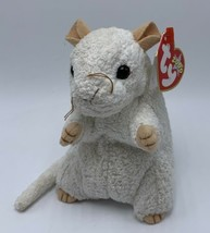 Ty Beanie Babies Cheezer The White Mouse 2000 - $4.74