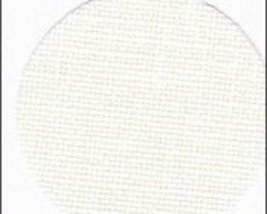 White 36ct Edinburgh Linen 36x27 1/2yd cut cross stitch fabric Zweigart - $29.70