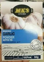 Ma's Garlic Powder 50g  Premium Quality, 100% Pure & Natural Ceylon-Free... - $8.98