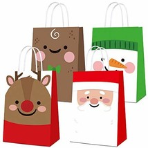 16 PCS Christmas Candy Bag Goodies Gift Bags Merry Christmas Treat Bags ... - $17.71
