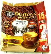 Old Town 3-In-1 Instant Classic White Coffee 15 Sticks x 38g - $17.77