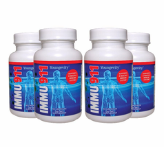 Youngevity Immu 911 60 capsules 4 Pack Dr. Wallach Free Shipping - $123.82