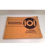 1957-1962 Electronic Technician 101, 103, 105 Manuals TV-Radio-HiFi Sche... - $24.99