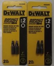 Dewalt DW2202IR #2 Square Recess Bit Tips 1inch 2-2pks - $1.98