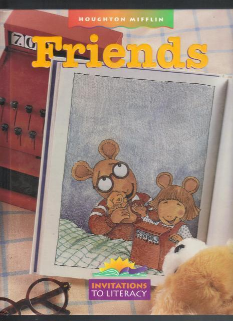 Friends, Invitations to Literacy, Hardcover School Reader, 1996