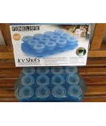 Frozen Icy Shot Drink Cups with Serving Tray - $20.80