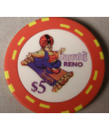 "$5.00 Casino Chip From: ""Harrah's Hotel & Casino"" - (sku#2103) - $5.39"