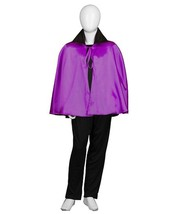 Child Purple & Black Vampire Cape HC-739 - $26.99
