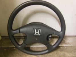 1990-1991 Honda Civic Steering Wheel Factory Oe Fits 4 Door Lx Dx Ex - $99.00