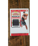 2019-20 PANINI CONTENDERS ROOKIE TICKET GAME WORN RELIC BRUNO FERNANDO H... - $9.99