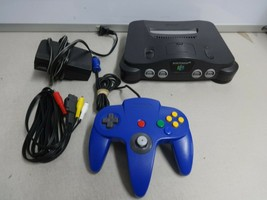 TESTED Grey Nintendo 64 N64 Video Game Console System OEM Controller Cor... - $98.99
