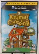 Nintendo GameCube Game Animal Crossing With Memory Card - $49.56