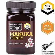 Zealand Honey Co. Raw Manuka Honey UMF 10+ | MGO 263+, 17.6oz / 500g - $53.49