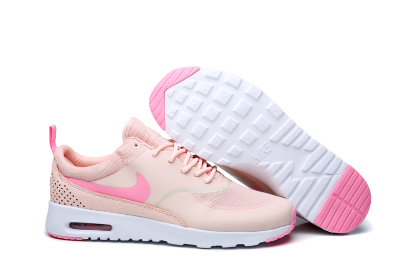 Nike Women's Air Max Thea Shoes NEW AUTHENTIC Pink/Bright Melon 599409-610 image 4