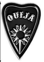 QUIJA witch ouija spells black moon pins Badges Brooches Lapel pin Ename... - $6.14 CAD