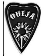 QUIJA witch ouija spells black moon pins Badges Brooches Lapel pin Ename... - $4.70