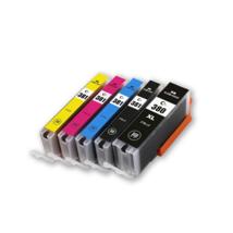 Compatible Ink Cartridge for BCI-380XL BCI-381 BCI381 fit PIXUSTR 5Pcs - $67.30