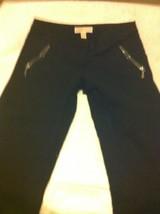 "Michael Kors Womens Size 4 Pants / SLACKS--BLACK--28"" INSEAM--FREE SHIP--VGC - $17.08"