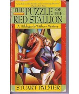 The Puzzle Of The Red Stallion Paperback A Hildegarde Withers Mystery - $9.95