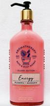 Bath & Body Works Aromatherapy ENERGY PLUMERIA MANDARIN Body Lotion 6.5 ... - $20.78