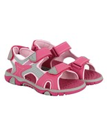 Khombu Kids Girl's River Sandal Adjustable Straps Pink   Sz 1 2 3 4 - $15.79