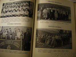 1956 Elk Head High School Yearbook Rush, Pennsylvannia image 8