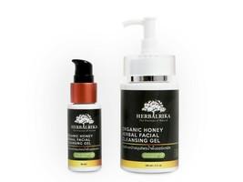 Herbalrika Organic Herbal Honey Cleansing Gel 30ml--Radiant, Clear & Acn... - $16.82