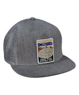 Death Valley National Park Trucker Hat by LET'S BE IRIE - Gray Denim Sna... - £17.26 GBP
