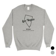 365 Printing Map-Las Vegas City Hometown Travel Unisex SweaShirt State N... - $20.99+