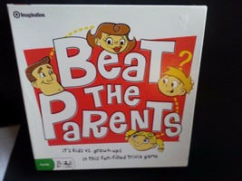 Beat The PARENTS-CHILDREN/FAMILY Trivia Board Game By IMAGINATION-2008-COMPLETE - $15.00