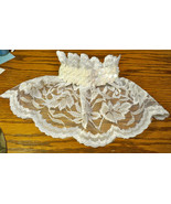Wedding Veil Collar with Iridescent Sequined Elastic Collar for Dogs Goo... - $22.00