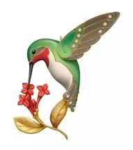 HALLMARK 2016 DAZZLING HUMMINGBIRD Ornament NEW Premium Metal FREE SHIPPING - $39.95