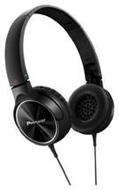 PIONEER Fully Enclosed Dynamic Headphones SE-MJ522-K (Black) - ₹3,287.61 INR