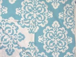Pottery Barn Dorm Ikat Medallion Sky Blue Reversible Full/Queen Duvet Cover - $69.00