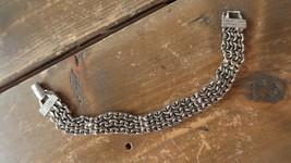"""7.25"""" Vintage Goldette Multistrand Bracelet - $16.82"""