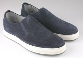 NEW Mens Strellson Blue Leather Suede Casual Shoes 43 EUR 10 US 9 UK