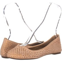 Lucky Brand Enorahh Perforated Ballet Flats 837, Glazed, 9 US - $10.55