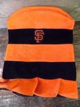 San Francisco GIANTS State Farm Orange Black Striped Top Hat Cap - $12.86