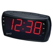 Supersonic SC-379 Digital AM/FM Dual Alarm Clock Radio with - €40,60 EUR