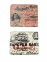 Vintage RARE JP Morgan Chase Bank Coaster Set Case Advertising Collectible image 6