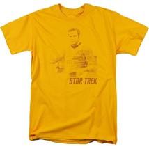 Star Trek James Kirk t-shirt The Final Frontier classic TV graphic tee CBS1121 image 1