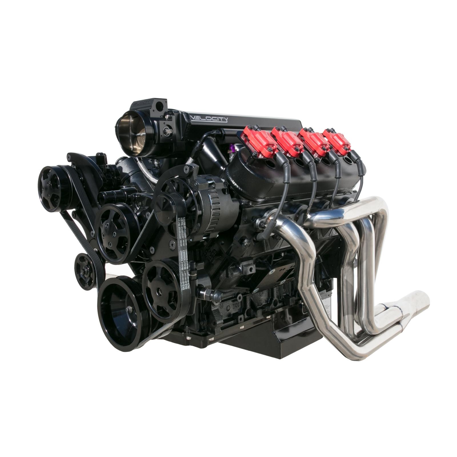Ls6 Engine Horsepower: BLACK LS1 LS2 LS6 FRONT DRIVE SERPENTINE PULLEY KIT GM