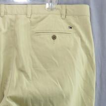 Tommy Hilfiger a righe pantaloni Casual 42 x 32 GIALLO 100% cotone - $24.44