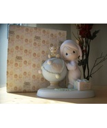 """1991 Precious Moments """"May Your World Be Trimmed With Joy"""" Figurine  - $60.00"""