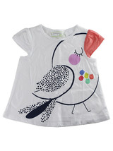 First Impressions Baby Girls Bird-Print Flutter-Sleeve T-Shirt - $9.00