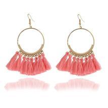 Boho Style Woman Tassel Earring Female Jewelry Bridal Fringed Vintage Long - $5.00+
