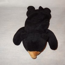 "Black Bear Ty Beanie Baby Blackie Plush Stuffed Animal Toy 1993 9"" - $9.99"