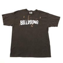 BILLABONG Shirt Size Extra Large Men's Baggy Fit Surf Skate Brown Tshirt... - $21.63