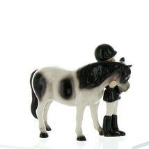 Hagen Renaker Specialty Horse Girl with Pinto Pony Ceramic Figurine image 8