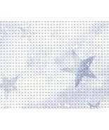 Violet Starlight 14ct Stylized perforated paper... - $4.50